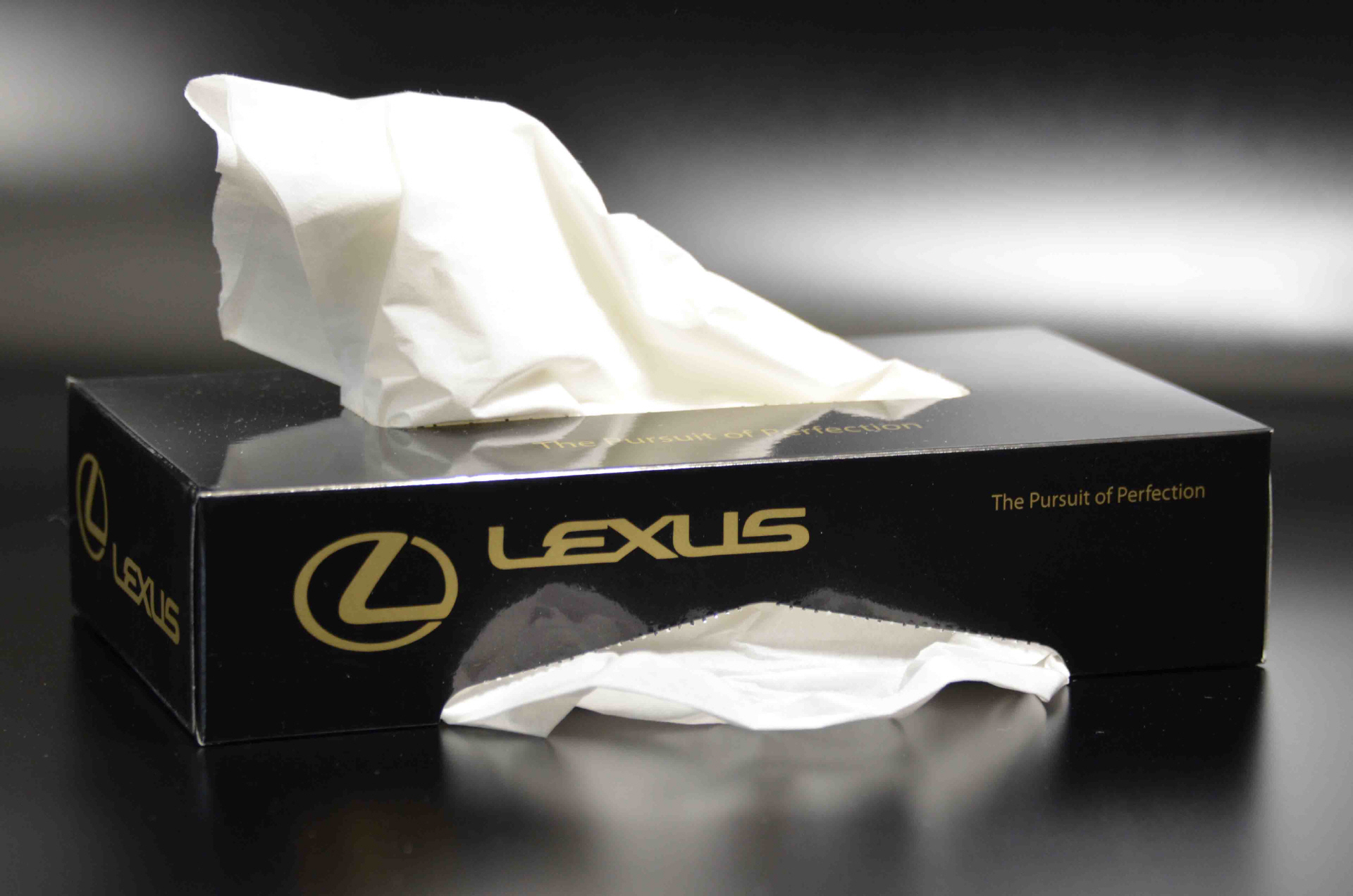 promotional tissue box for car doors